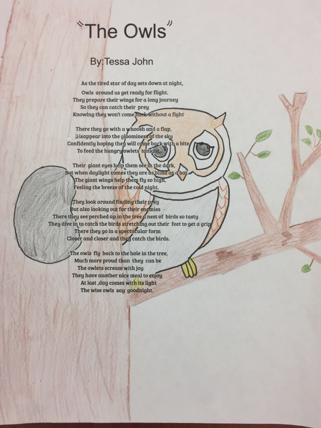 Poetry Lesson: Animal/Shape Poems  kidsbook friends